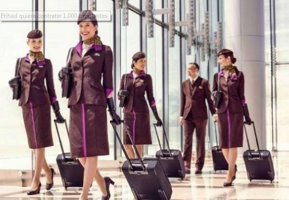Las aerolíneas del Golfo despiertan: Etihad quiere contratar 1.000 tripulantes